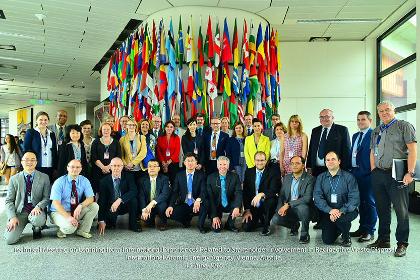 Participants at the IAEA Technical Meeting in Vienna (13-17 June 2016)