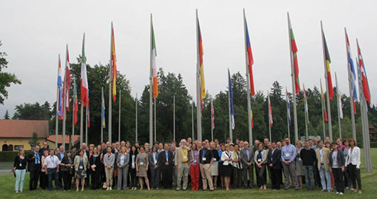 Participants at RICOMET 2015 (Slovenia)