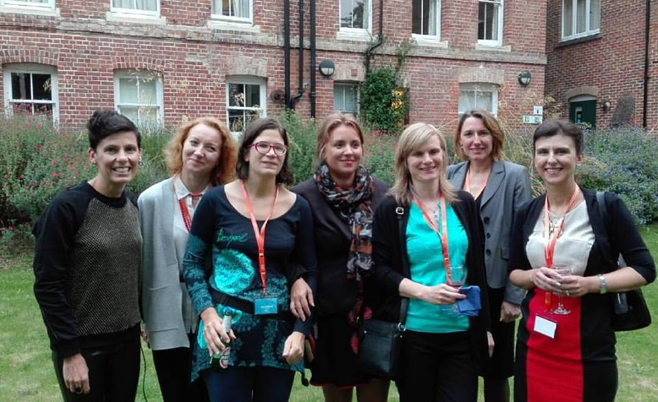 Some of the ladies at the reception (photo from Liudmila Liutsko)